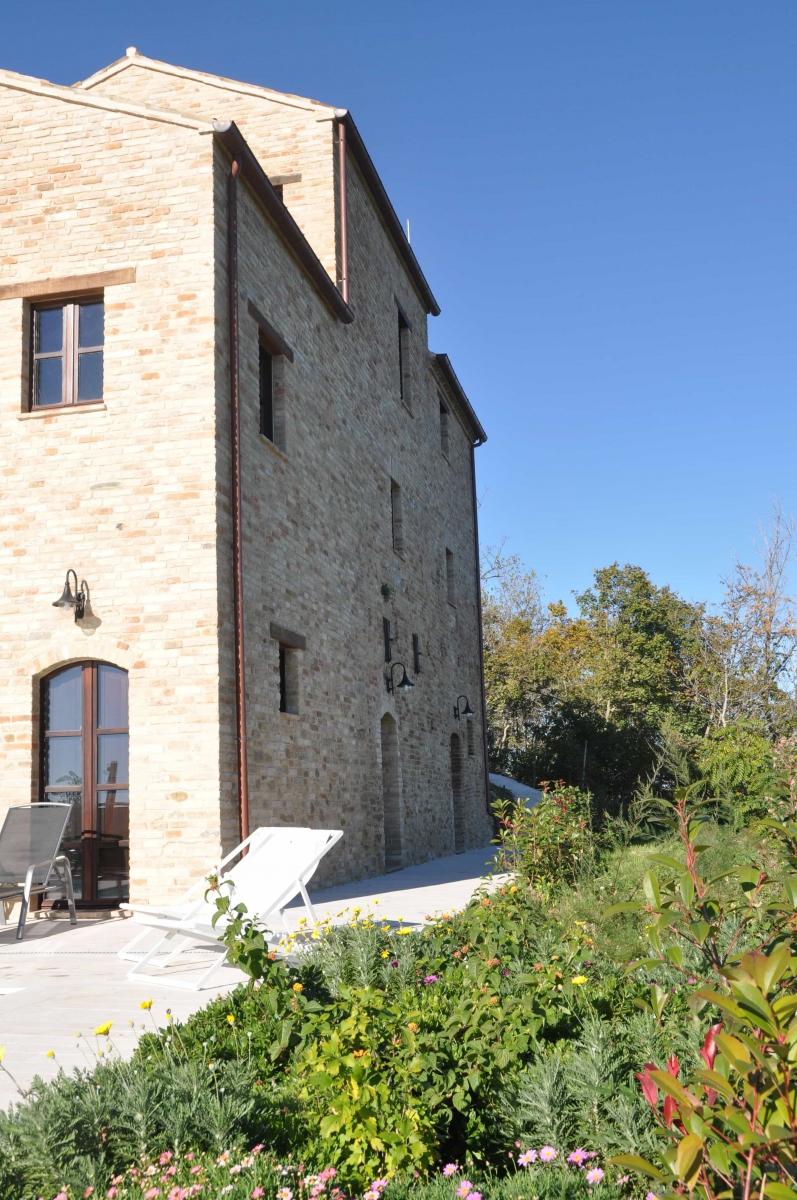 Achterzijde huis